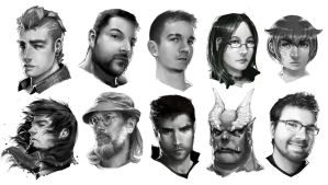 Headshot compilation 02 by Amdhuscias