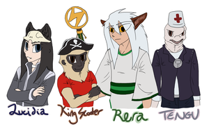 Lucidia's TTR Toons by YuPuffin