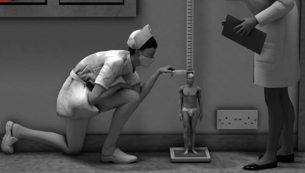 Incredible Shrinking Man - 31 The Steady Decline by DrCreep