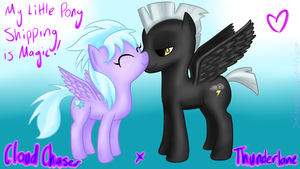 MLP Ship: Cloud Chaser x Thunderlane by SkyCrescent