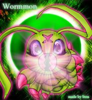 Wormmon by Angemonx