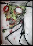 The Grimly Zombie by Dandy-Jon