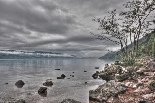 Loch Ness by purplepolarbear