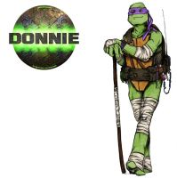 TMNT DONATELLO by bishart