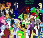 ALL THE TUMBLR PONIES by fightingjoker