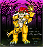.:King Bowser:. by Bowser2Queen