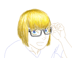 Armin doodle wip by Portmanteal