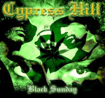 Cypress Hill CD case by fastworks