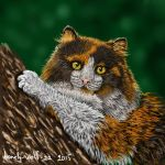 Norwegian Wild Cat by lonely-wolf-22