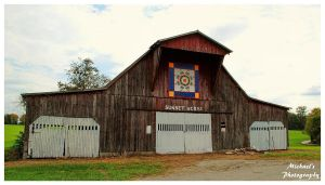 Brotherton Mountain Quilt Trail Barn by TheMan268