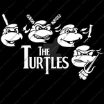The Turtles by Cheekydesignz