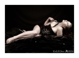 Elle - Plastic and Leather by zaleone