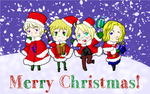 Happy Christmas! Hetalia (screensaver) by KaninNeko