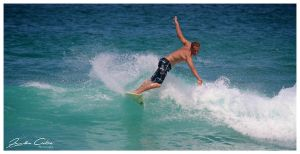 Unknown Surfer 2 Bondi beach by jaydoncabe