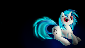 Vinyl Scratch wallpaper by malamol