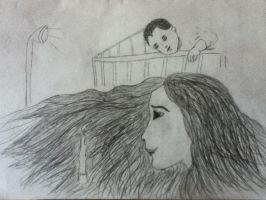 Woman and Child by HyruleWarrior7955