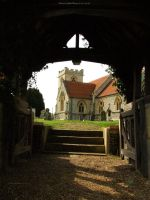 Under Lych Gate by In-the-picture