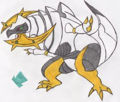 Haxorus is an Arceus by MadHatter-Himself