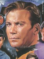Star Trek: Captain Kirk by SteveStanleyArt