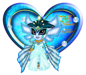 ::Journal Doll Chibi The Last Zora Queen:: by Rutogirl