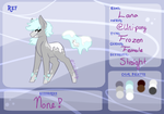 Lana Official Reference Sheet by Uni-pony