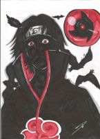 Itachi final by Dericules