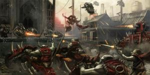 Raven Guard vs. Orks by warhammer40kcampaign