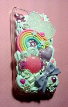 pastel iphone 5 decoden case by JL010203