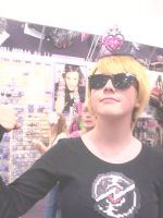 Dave is a Princess by Fainting-Ostrich