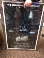 Star Wars The Empire Strikes Back 'Signed Poster' by extraphotos