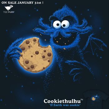 Cookiethulhu v2 - tee by InfinityWave