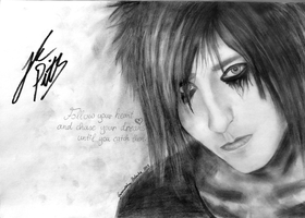 Jake Pitts - SIGNED by JokerIsMYFreak
