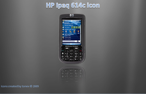 HP ipaq614c icon by tonev