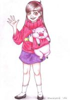 Mabel and Waddles by Dionysie