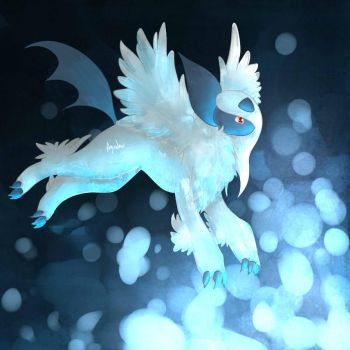 Mega Absol by Watertrack