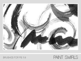 Paint Swirls Brushes PS 7.0 by Pfefferminzchen