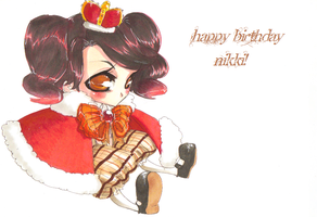 Happy Birthday Nikki by jack-o-lantern12