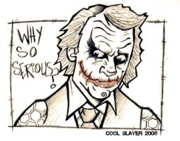 Joker sketch by cool-slayer