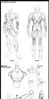 PG HALF T 2  comic y anatomia by alexss