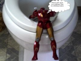Iron Man's greatest regret by LadyNomad