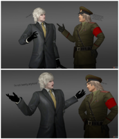 Raiden and Raikov by DavidRiki