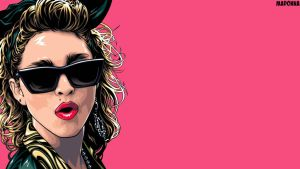 Wallpaper/Screensaver Madonna by AutotuneBaby