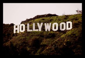 Hollywood Sign by IamVolchek