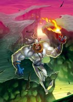 earthworm jim groovy by OscarCelestini