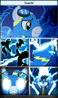 Soarin', the Lord of Olympus by Dota2Pony