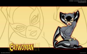 Catwoman - 3 - Gold - ASSESINA by batwolverine