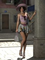 Tini alone in the town by ziege58