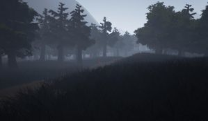 Forest WIP by CaptainApoc
