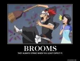 Brooms. by ThisOneNarutoFreak