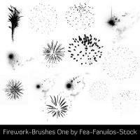 Firework-Brushes One by Fea-Fanuilos-Stock